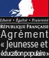 logo agreement jeunesse et éducation populaire